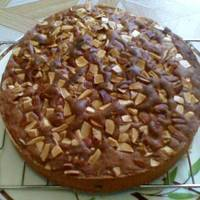 Image of Almond & Chocolate Chips Butter Cake Recipe, Cook Eat Share