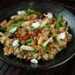 Wheat Berry Salad with Dried Cranberries, Apples, Arugula, and Goat Cheese