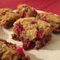 Butter, Flour and Sugar Free Cranberry Oat Bars