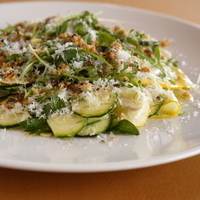 Salad of Summer Squash and Fennel with Arugula and Ricotta Dura