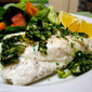 (Not So) Thoughtless Thursday: Baked Halibut with Zesty Gremolata