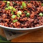 What's on the side? Bhutanese Red Rice and Lentil Pilaf