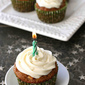 Carrot Ginger Cupcakes with Cream Cheese Frosting Recipe - 40th Birthday