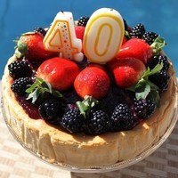 Image of A Birthday Bash With New York Style Triple Berry Cheesecake And Lots More! Recipe, Cook Eat Share