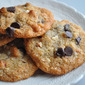 Gluten-Free Double-Almond Chocolate Chip Cookies