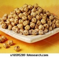 Healthy Spicy Chickpea Snack