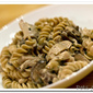 Chicken Pasta in a Three Mushroom Cream Sauce
