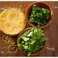 Savory Polenta-Herbed Muffins