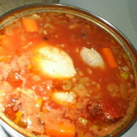 CHICKEN TOMATO potage soup