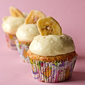 Banana Cupcakes with Vanilla Pastry Cream