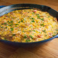 Ham, Potato, and Roasted Red Pepper Frittata