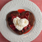 Double Chocolate Strawberry Topped Pancakes