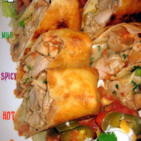 Game Day Chicken Chimichangas 3 Ways