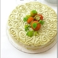CINNAMON BUTTERCREAM AUTUMN CAKE... for the Daring Kitchen