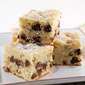 Chocolate Chip Banana Blondie Cake