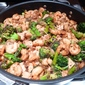 Shrimp and Tofu with Black Bean Sauce