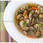 Roasted Mushroom, Beef & Barley Soup