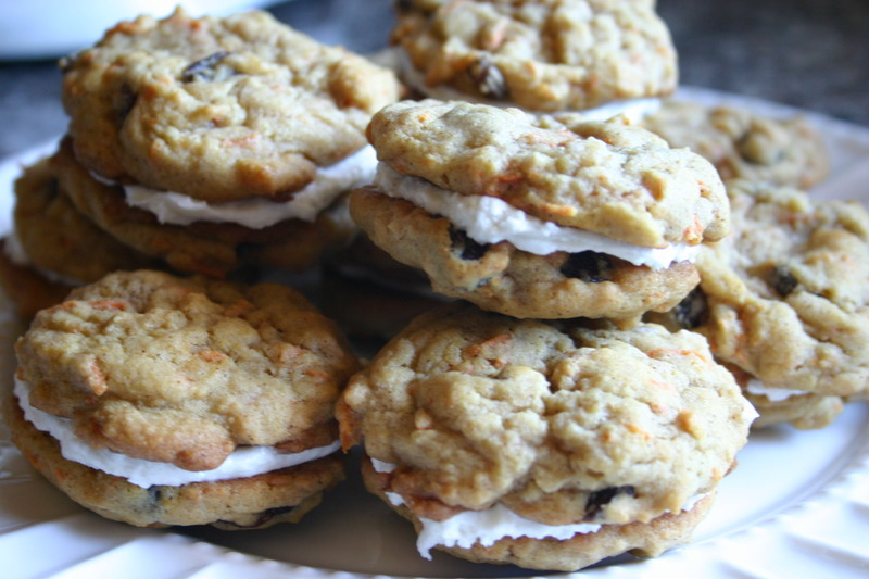 Carrot Cake Sandwich Cookies Recipe by Mary - CookEatShare