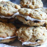 Image of Carrot Cake Sandwich Cookies Recipe, Cook Eat Share