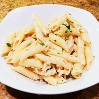Pasta with Cauliflower and Anchovy Sauce