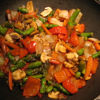 Spicy Thai Vegetables