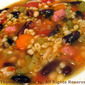 Bean and Barley Soup; the update