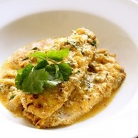 Image of Almond Crusted Tilapia In Coconut Milk Gravy Recipe, Cook Eat Share