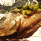 Oven Baked Sea Bream with Herb Butter