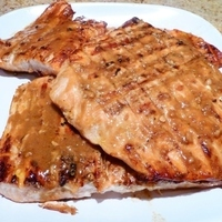 Tangy Asian Grilled Salmon