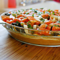 Vegetarian 7-Layer Dip