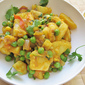 Aloo Matar, Potatoes Pea Curry