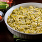 Healthier Hot Artichoke and Garlic Dip