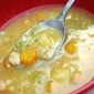 Vegetable soup with barley