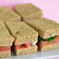 Baby Hummus Sandwiches for a Virtual Baby Shower