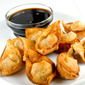 Pumpkin Bacon Wontons with Maple Balsamic Sauce