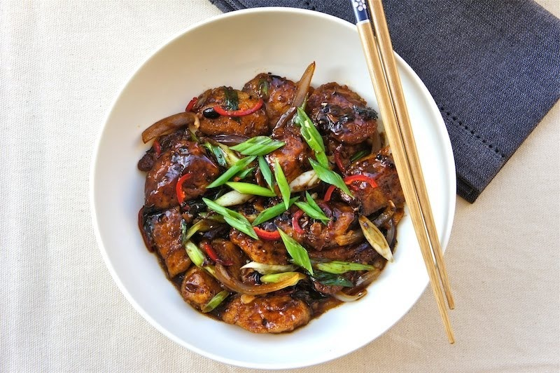 stir fry sauce stir fried chicken in chili soy sauce thai stir fried ...