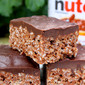 Nutella Rice Krispie Treats