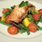 Citrus-grilled Salmon with Mango Mint Salad