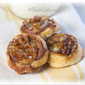 Banana Cinnamon Roll Bites with Pecans