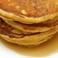 Pumpkin Spiced Egg Nog Pancakes