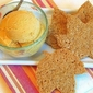 Homemade Pumpkin Ice Cream with Crispy Ginger Cookies . . .