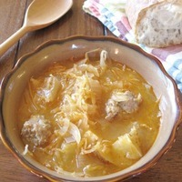 Sauerkraut and Sausage Soup