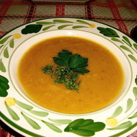 Sugar Pumpkin Curry Cream Soup