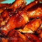 Cane Syrup Glazed Sriracha Hot Wings