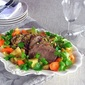 Pistachio Crusted Roast A Jus, with Carrots and Potatoes Pressure Cooker Beginner Basics: One Pot Meal