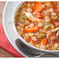 Pasta Soup (Sopa) with Chicken and Vegetables