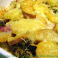 Potato, Ham and Broccoli Gratin; the update