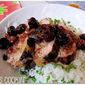 Grilled Pork Tenderloin with Cherry Relish