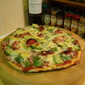 Bacon and Avocado Pizza