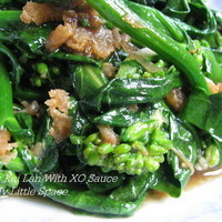 Baby Kai Lan In Homemade XO Sauce